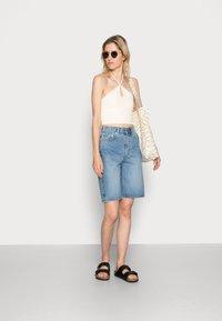 ARKET - Denim shorts - blue - 1
