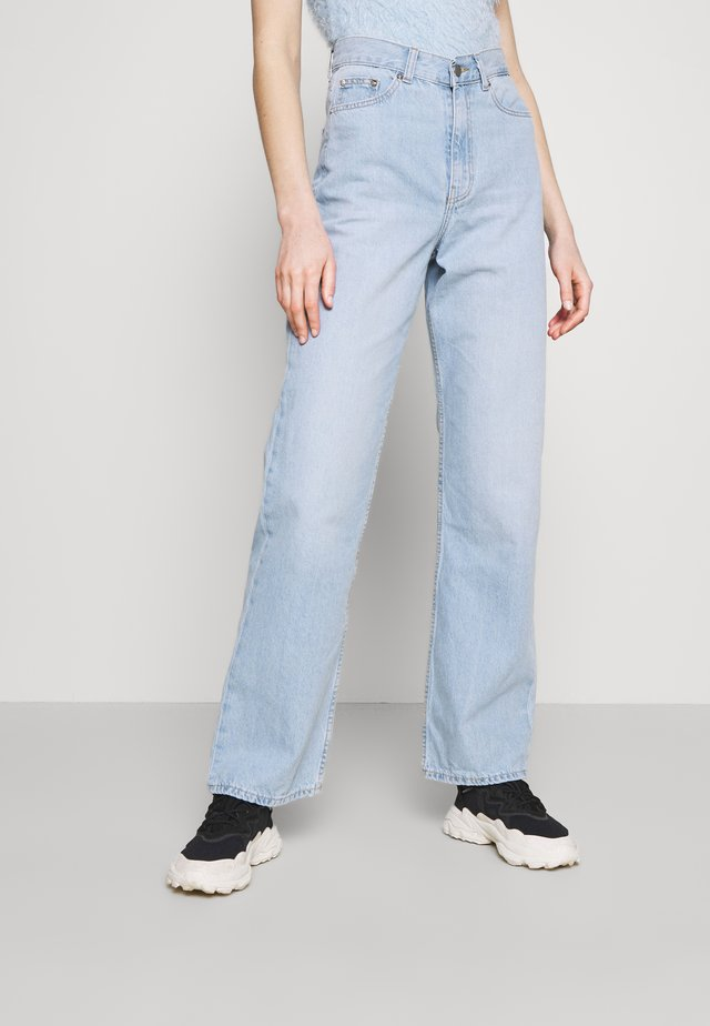 ECHO - Jeans straight leg - superlight blue