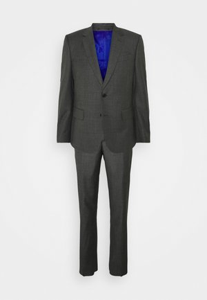 TAILORED FIT BUTTON SUIT - Costume - dark grey