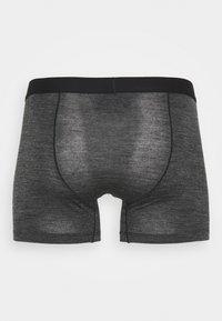 Icebreaker - ANATOMICA COOL LITE BOXERS - Pants - black heather - 1
