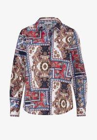 Alba Moda - Button-down blouse - marineblau,rot,weiß - 3