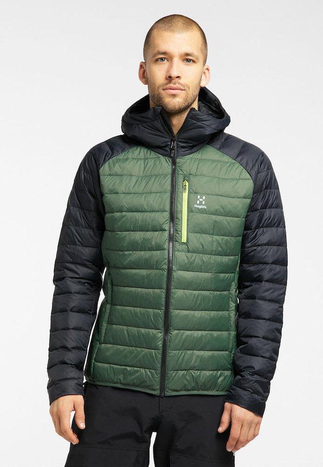 Winter coat - fjell green/true black