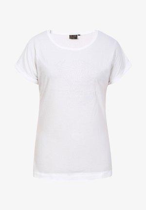 ANOKA - Print T-shirt - weiss