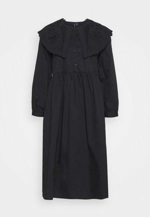 VMELLA DRESS VIP - Shirt dress - black