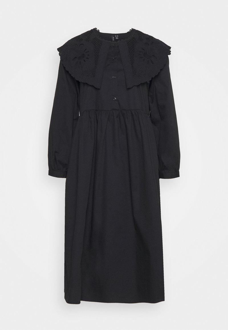 Vero Moda Tall - VMELLA DRESS VIP - Shirt dress - black