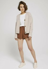 TOM TAILOR DENIM - Shorts - amber brown - 1