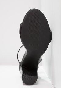 Steve Madden - CARRSON - High heeled sandals - black - 5