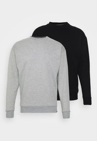 Newport Bay Sailing Club - NEWPORT CORE CREW 2 PACK - Sweater - black/grey marl - 0