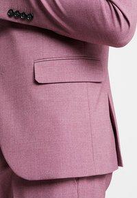 Lindbergh - PLAIN MENS SUIT - Kostuum - dusty pink melange - 8