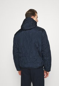 Armani Exchange - BLOUSON JACKET - Light jacket - navy - 2