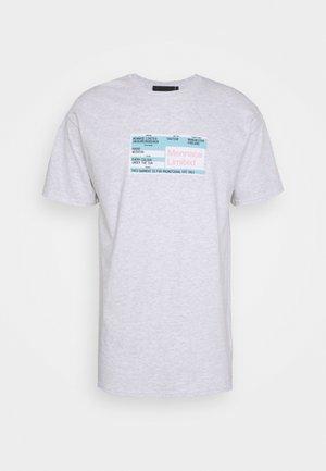 UNISEX PRIDE TICKET  - Print T-shirt - grey