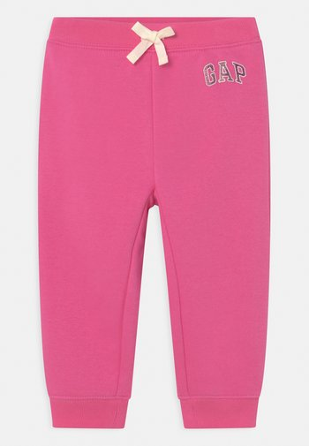 LOGO - Trousers - pink