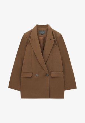 Manteau court - dark brown