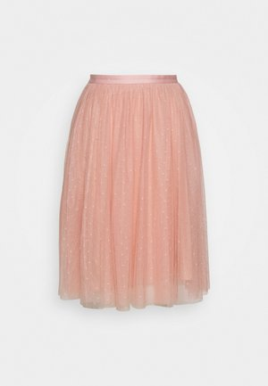 KISSES TULLE EXCLUSIVE - A-Linien-Rock - desert pink