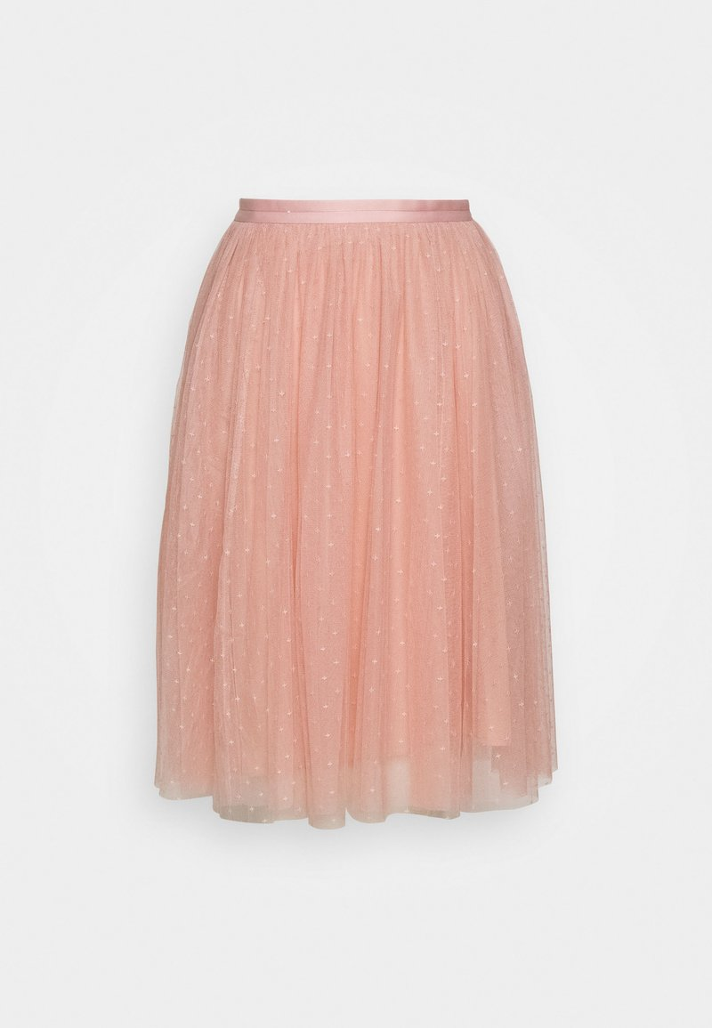 Needle & Thread - KISSES TULLE EXCLUSIVE - A-Linien-Rock - desert pink