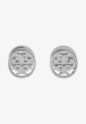LOGO CIRCLE EARRING - Náušnice -  silver-coloured