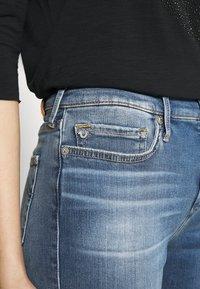 True Religion - HIGHRISE HALLE - Jeans Skinny Fit - denim blue - 3
