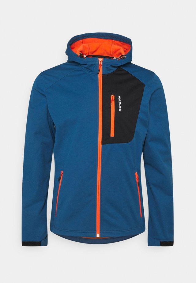 VISALIA - Fleece jacket - blue