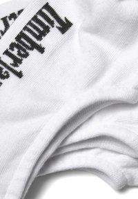Timberland - 3 PACK - Trainer socks - white - 1