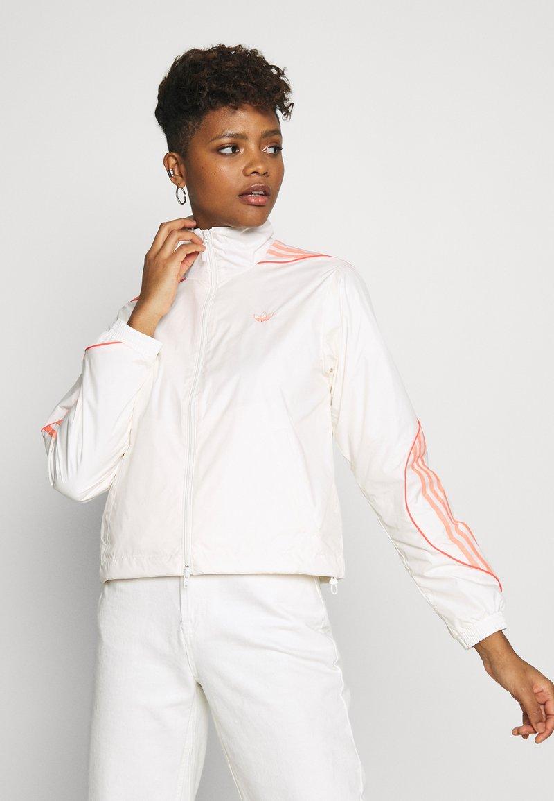 adidas Originals - FAKTEN SPORT INSPIRED TRACK TOP - Training jacket - chalk white
