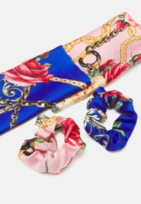 Pieces - PCANJULIA BOW SCRUNCHIE 2 PACK - Hair Styling Accessory - petal pink/blue - 1
