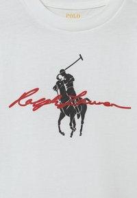 Polo Ralph Lauren - GRAPH  - Print T-shirt - white - 2