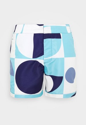 TRUNKS CLASSIC SHORT COPIC - Swimming shorts - sky blue/navy