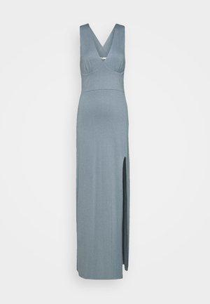 CUP DETAIL MAXI DRESS - Maxi dress - stone blue