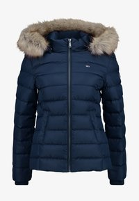 Tommy Jeans - ESSENTIAL HOODED JACKET - Down jacket - black iris - 6