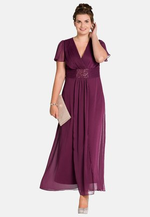 Maxi dress - berry