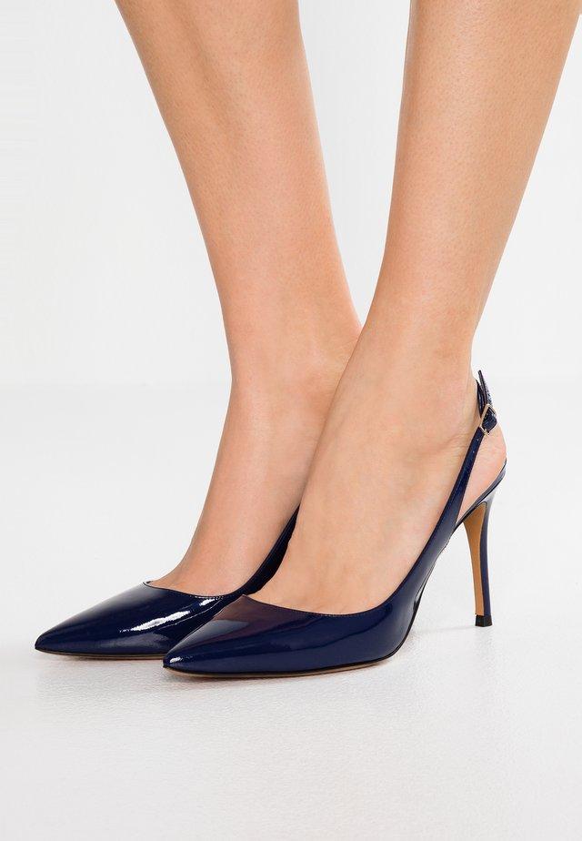High heels - navy