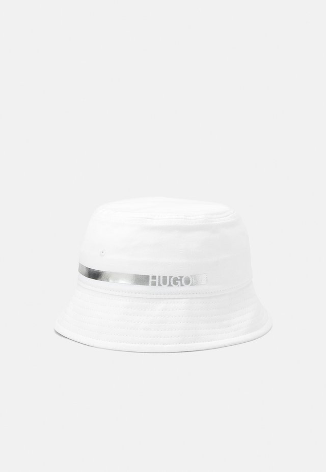 UNISEX - Chapeau - white/silver