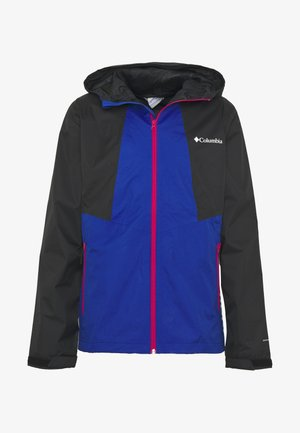 INNER LIMITS™ JACKET - Hardshellová bunda - azul/black/cactus pink zips