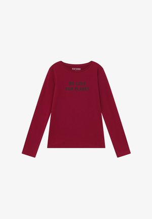 TEENS LOVE OUR PLANET  - Long sleeved top - bordeaux