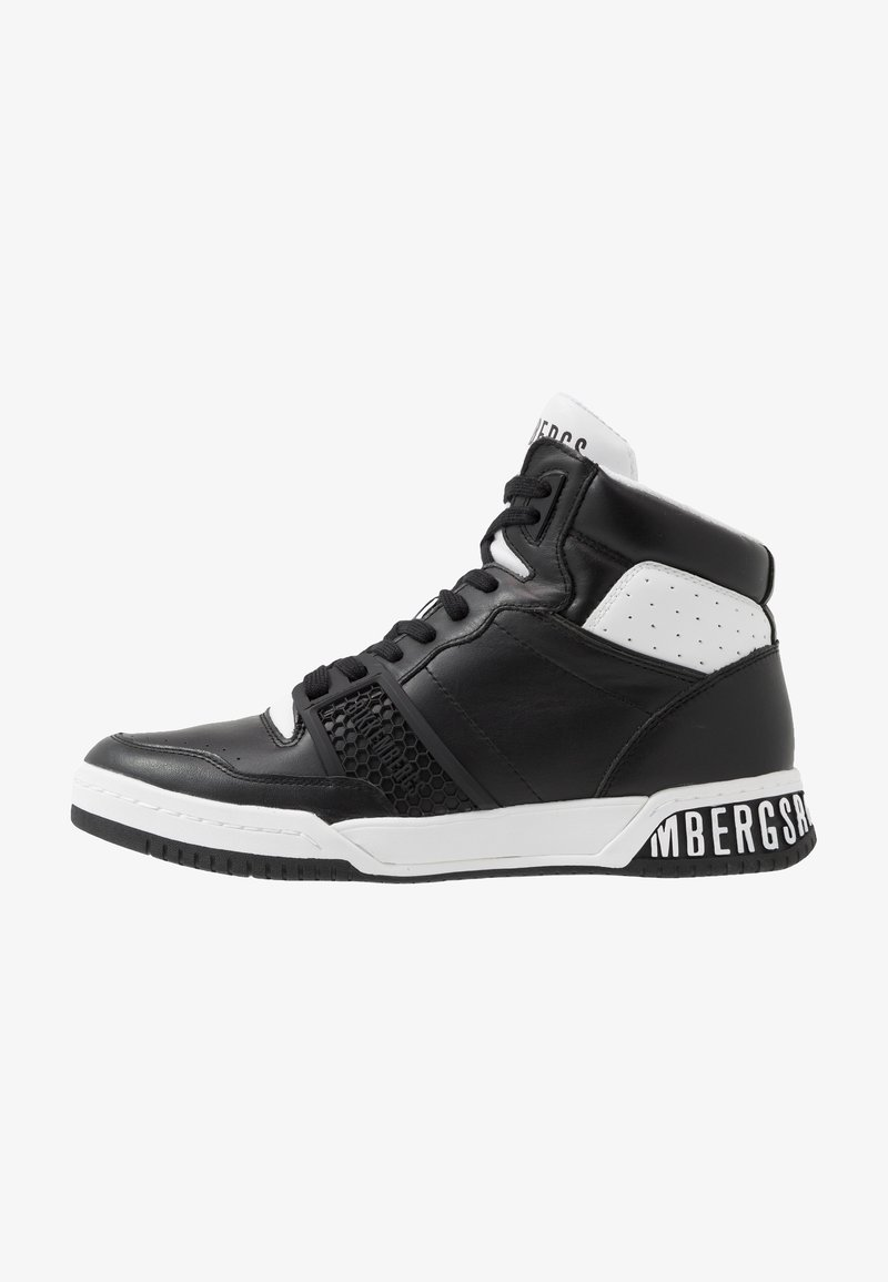 Bikkembergs - SIGGER - High-top trainers - black/white