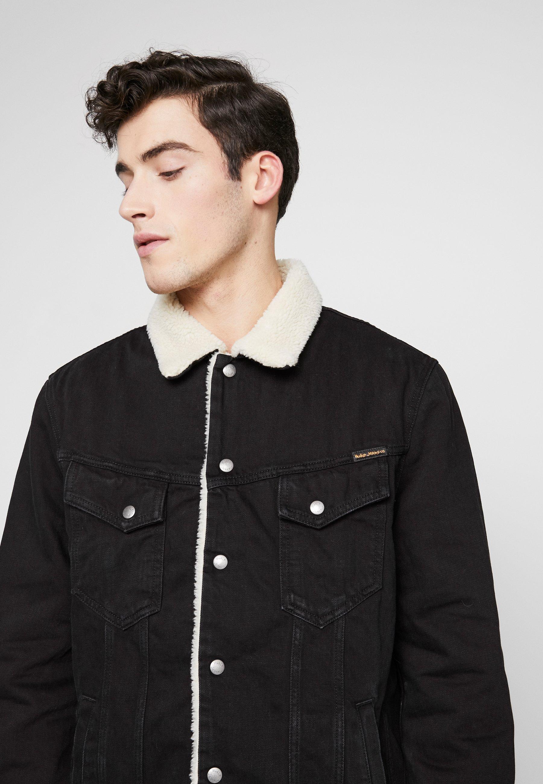 Nudie Jeans LENNY - Veste en jean - black