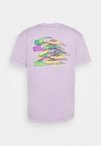 Quiksilver - TANGLED - T-shirt con stampa - pastel lilac - 1