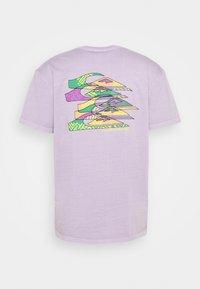 Quiksilver - TANGLED - Printtipaita - pastel lilac - 1