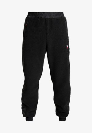 SHERPA PANT CUFFED - Tracksuit bottoms - black