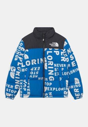 PRINTED RETRO NUPTSE UNISEX - Down jacket - hero blue