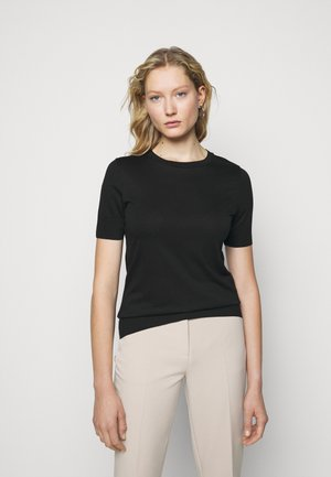 FAMMY - T-Shirt basic - schwarz
