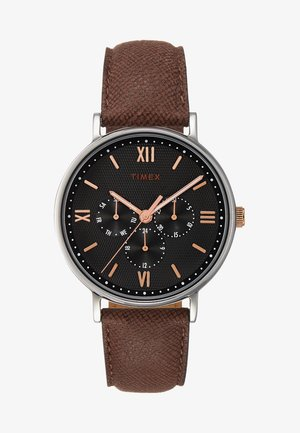SOUTH VIEW MULTIFUNCTION 41 mm - Horloge - silver-coloured/brown