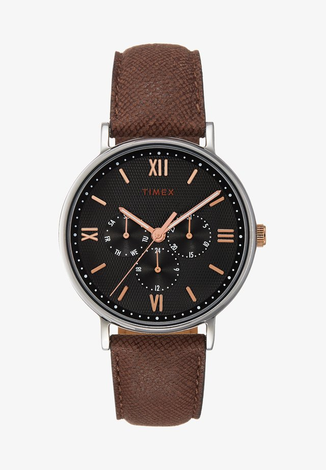 SOUTH VIEW MULTIFUNCTION 41 mm - Hodinky - silver-coloured/brown