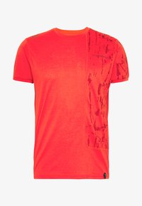 La Sportiva - LEAD - T-shirt z nadrukiem - poppy - 4