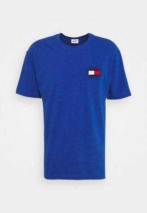 BOX FLAG TEE - T-shirts print - blue