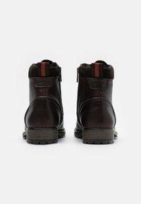 Marc O'Polo - LACE UP BOOT - Šněrovací kotníkové boty - dark brown - 2