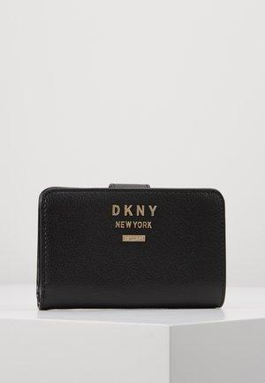 WHITNEY SMALL CARRYALL - Peněženka - black/gold