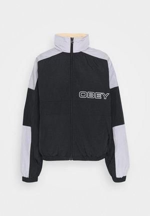 BRUGES JACKET - Training jacket - black/periwinkle