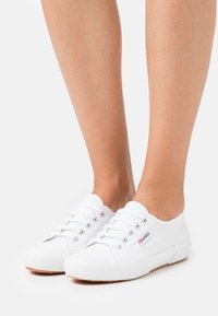 Superga - 2750 - Sneakersy niskie - white/pastel multicolor - 0