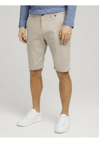 TOM TAILOR - Shorts - sandy dust beige - 0